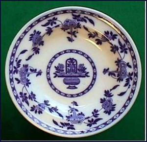 Flow Blue: DELFT soup bowl (Mintons) (Image1)