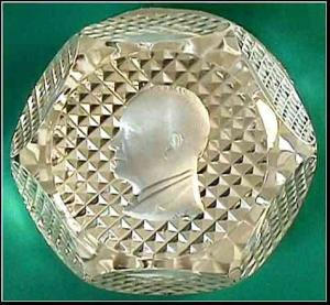 Baccarat 1963: Dwight D. Eisenhower Paperweight