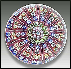 Perthshire: Concentric millefiore paperweight (Image1)