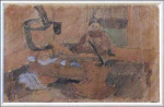 Click here to enlarge image and see more about item 97BF: Max Liebermann (1847-1935; Germany)