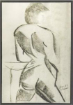 Click here to enlarge image and see more about item 97DI: S. Manaut (20th C; USA)