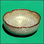 Click here to enlarge image and see more about item B133: Japanese Satsuma 5-lobed bowl