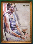 Click to view larger image of Moses Soyer (1899-1981; NYC) (Image1)