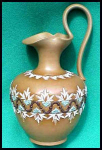 Click here to enlarge image and see more about item E012: Doulton Silicon Ewer