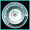 Click to view larger image of Wedgwood Florentine cup & saucer (Image2)