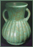 Click here to enlarge image and see more about item F033: RumRill art pottery vase (1930s)