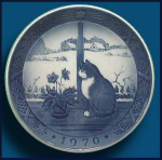Royal Copenhagen Christmas Plate (1970)