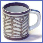 ROYAL COPENHAGEN 1970 Mug: Arts & Crafts