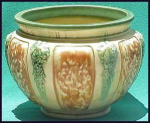 Click here to enlarge image and see more about item G034: Roseville FLORENTINE large jardiniere
