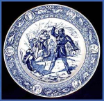 Click here to enlarge image and see more about item G104a: Wedgwood Flow Blue