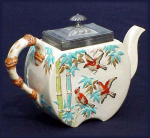 Click here to enlarge image and see more about item G111: Copeland and Sons  teapot