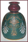 Click here to enlarge image and see more about item G140b:  Lovatt Pottery vase (c. 1890)