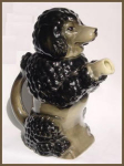 Click to view larger image of Erphila poodle dog figural teapot (Image1)