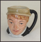Click here to enlarge image and see more about item H152: Royal Doulton character jug: Artful Dodger