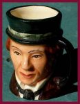 Royal Doulton character jug: David Copperfiel
