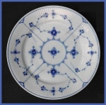 Click to view larger image of Antique Royal Copenhagen Blue Fluted plate (Image1)