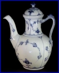 Royal Copenhagen Blue Fluted coffeepot