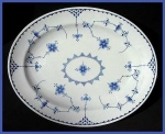 "Click here to enlarge image and see more about item HT030: Furnivals ""Denmark"" platter"