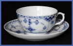 Royal Copenhagen Fluted Half Lace cup &saucer