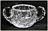Click to view larger image of Kraft 1950: Cut glass sugar and creamer set (Image2)
