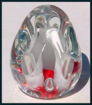 Click to view larger image of Kraft 1975: Paperweight pen holder (Image1)