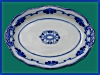Click to view larger image of Flow Blue: LORNE large platter (Image2)