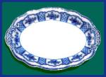 Click to view larger image of Flow Blue: MELBOURNE platter (Image1)