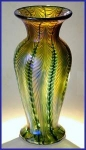 "Click to view larger image of Lundberg Studios ""Sea Crest"" vase (Image1)"
