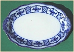 Click to view larger image of Flow Blue: MELBOURNE platter (Image1)