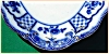 Click to view larger image of Flow Blue: MELBOURNE platter (Image3)