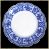 Click to view larger image of Flow Blue: MELBOURNE dinner plate (Image2)