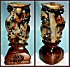Click to view larger image of Antique carved soapstone candlestick (Image2)