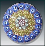 Perthshire: Concentric millefiori paperweight