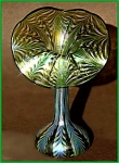 """Click to view larger image of Lundberg """"Sea Crest"""" Jack-in-the-pulpit vase (Image1)"""