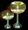 """Click to view larger image of Lundberg """"Sea Crest"""" Jack-in-the-pulpit vase (Image2)"""