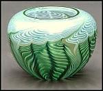 "Lundberg Studios ""Natalia Verde"" bowl"