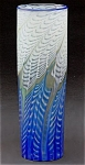 "Click here to enlarge image and see more about item L054: Lundberg Studios ""Natalia Azul"" vase"
