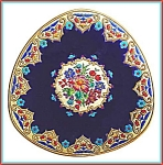 "Click here to enlarge image and see more about item L122: Longwy charger ""RENAISSANCE"" design (Chevallier)"