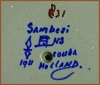 "Click to view larger image of Gouda: chamberstick  (""Sambesi"") (Image2)"