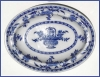 Click to view larger image of Flow Blue: DELFT covered server  (Mintons) (Image3)