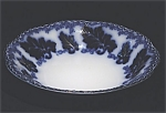 Flow Blue: NORMANDY soup bowl