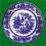 Click to view larger image of Flow Blue: LAHORE plate (Image1)