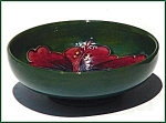 Click to view larger image of Moorcroft Hibiscus bowl. (Image1)