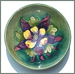 Click to view larger image of Moorcroft footed bowl (Image1)