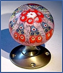 Click to view larger image of Strathearn: Millefiori paperweight doorknob (Image1)