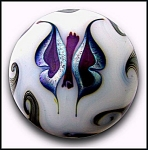 Click to view larger image of Steve Smyers 1975: Butterfly paperweight (Image1)