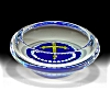 Click to view larger image of Peter McDougall: Millefiori cross pin dish (Image2)