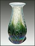 "Lundberg Studios ""Sea Grass"" vase"
