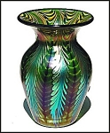 "Lundberg Studios ""Sea Crest"" vase"