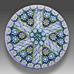 Peter McDougall: Patterned millefiori paperweight